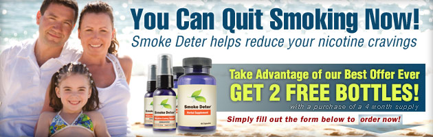 Stop Smoking Aid By Smoke Deter